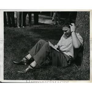 1939 Press Photo Boxer Bob Pastor at training for Joe Louis bout - nes45794