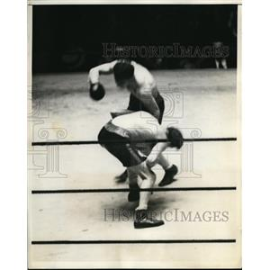 1931 Press Photo Vince Dundee wins versus Ben Jeby in 10 round bout - nes46101