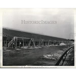 1936 Press Photo Roosevelt motor Speedway in NY ready to open for season
