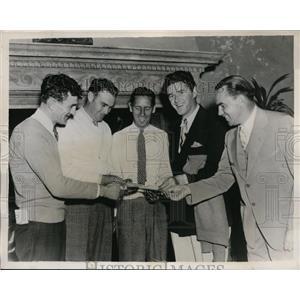 1935 Press Photo Miami Biltmore Open in Fla Johnny Revolta, Orville White