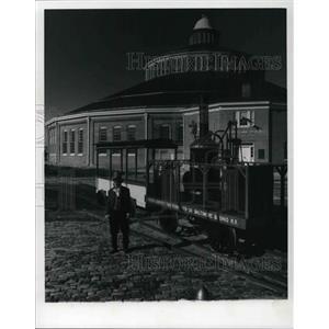 1977 Press Photo B&O Railroad Museum, Baltimore City - cva22703