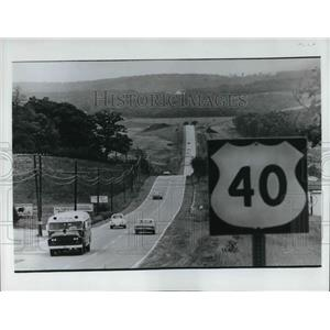 1980 Press Photo The Old National Road in Maryland - cva21208