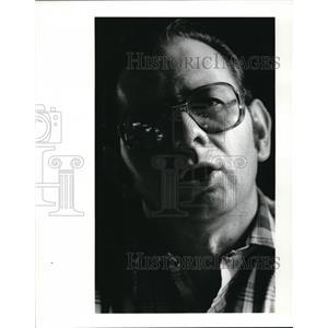 1985 Press Photo Jack (John) Fedor Vietnam Vet - cva12950