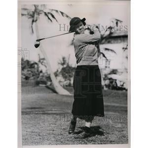 1936 Press Photo Patty Berg favored to win Miami Biltmore Tourney - nes48661
