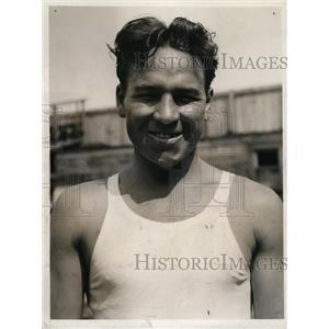 1932 Press Photo Jimmy McLarnin trains in NY for bout vs Lou Brouillard