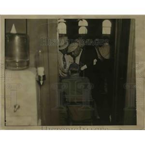 1936 Press Photo Names of people involved in gambling ring taken during raid