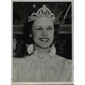 1936 Press Photo Lefa Brigden Queen of the Western New York Apple blossom