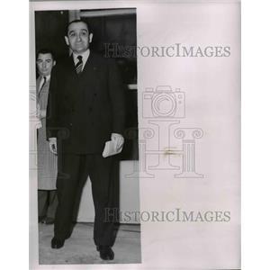 1954 Press Photo Premier Mendes France of France  - nee91042