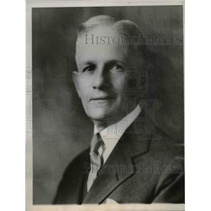1949 Press Photo James Powell real estate dealer reveaked as the Mr.Benefactor