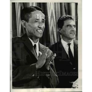 1969 Press Photo tran Buu Kiem of Natl. Liberation Front to Paris Vietnam talks