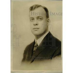 1919 Press Photo Joseph B.Eastman Member of Interstate Commerce Commission