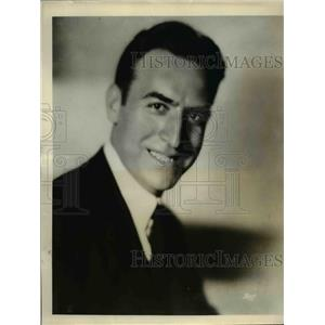 1931 Press Photo William Scotti heard over NBC Networks from Lido Country Club