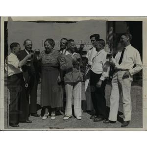 1935 Press Photo DC Art Germans  - nee92203