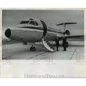 1970 Press Photo he Fokker F-28, developed by the Dutch - mja01491
