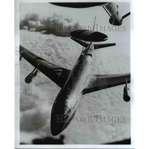 1977 Press Photo E-3A Sentry, effective worldwide trouble shooter - orb06892