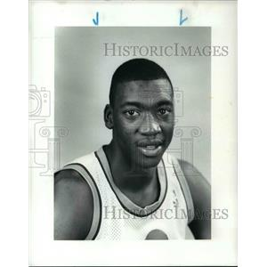 1986 Press Photo Johnny Newman of Cleveland Cavaliers - cvb64459