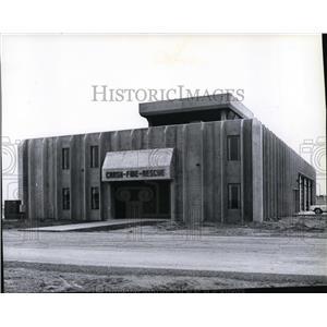 1979 Press Photo New crash-fire-rescue station at Spokane International Airport