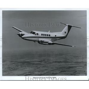 1988 Press Photo Beechcraft Super King Air B200 - orb13595
