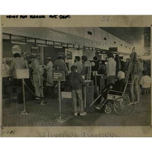 1985 Press Photo Portland International Airport - orb39798