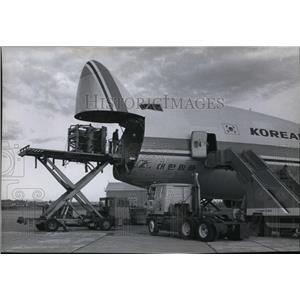 1980 Press Photo Korean Air Lines - spa23209
