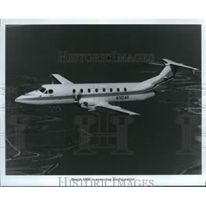 1988 Press Photo Beech 1900 Airplane - orb13592