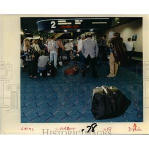 1993 Press Photo Portland International Airport - orb36487