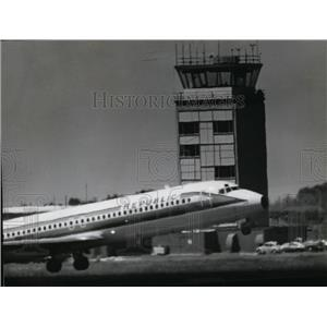 1981 Press Photo Spokane International Airport Control Tower - spa21635