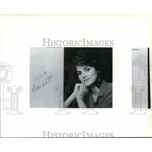 1987 Press Photo Lisa Brockett - spa23236