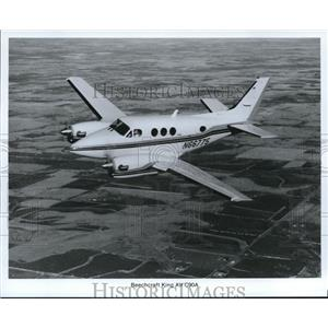 1988 Press Photo Beechcraft King Air C90A - orb13593