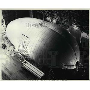 1982 Press Photo The Cyclo-Crane Ballooned To Almost Full Inflation - orb02113