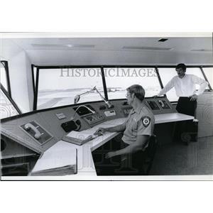 1979 Press Photo Modern Equipment-Spokane International Airport Fire Chief .