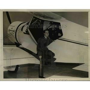 1941 Press Photo Capt.Rafael Suarez Rivas died in plane crashed at Wash. Airpot