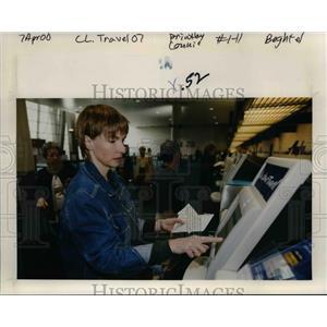 2000 Press Photo Portland International Airport - orb39796