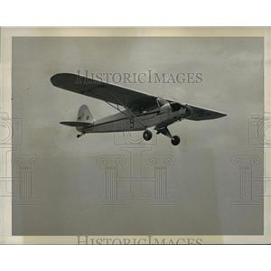 1940 Press Photo Climaxing 72 hours of ground training, at least 17 hours flying