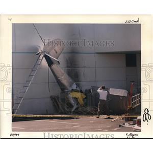 1997 Press Photo Airplane accident in Washington - ora99484