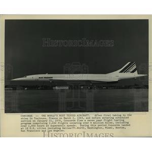 1976 Press Photo The F-SVFA, Air France - mja04207
