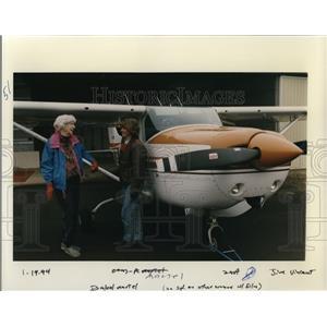 1994 Press Photo Isabel L Marte Female Pilot - ora55131