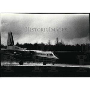 1978 Press Photo Airplane Cargo & Transport F-27 - spa22035
