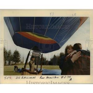 1996 Press Photo Hot Air Balloon - orb01110