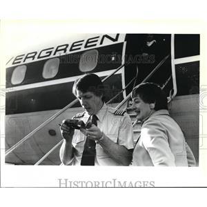 1990 Press Photo Mayor Connie McCready with Penn Stohr - ora56433