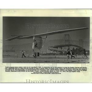 1979 Press Photo Gossamer Albatross, Pedal-powered Aircraft - ora96559