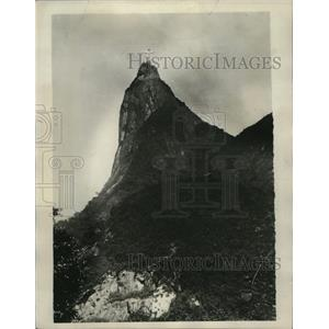 1931 Press Photo Christ the Redeemer on Corovado Hill, Rio De Janeiro