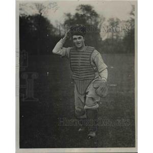 1925 Press Photo John Sonnel, Catcher - cvb66262