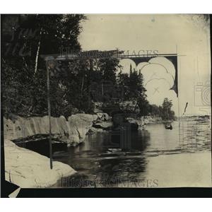 1921 Press Photo Apostle Island, Bayfield, Wisconsin  - mja15576
