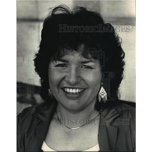 1988 Press Photo Maria De La Luz, sneaked across the Mexican border into Calif.