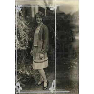 1927 Press Photo Miss Marion Lasche - mja18552