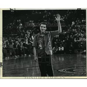 1983 Press Photo Ray Blume member fo the Chicago Bulls in the NBA - orc15930
