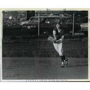 1980 Press Photo Putnam's Sophomore shortstop, Kelly Doherty - orc16158