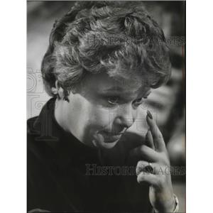 1982 Press Photo Maureen Reagan Spokane Visit