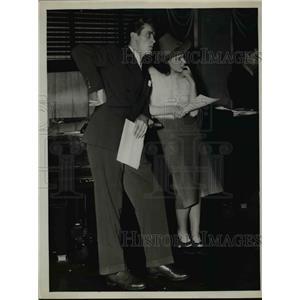 1939 Press Photo Actors June Marie Harney, Dillon O'Ferris  - nee99158